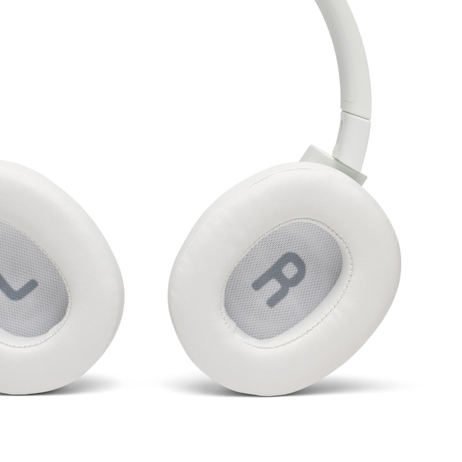 JBL TUNE 750BTNC - White - Wireless Over-Ear ANC Headphones - Detailshot 4