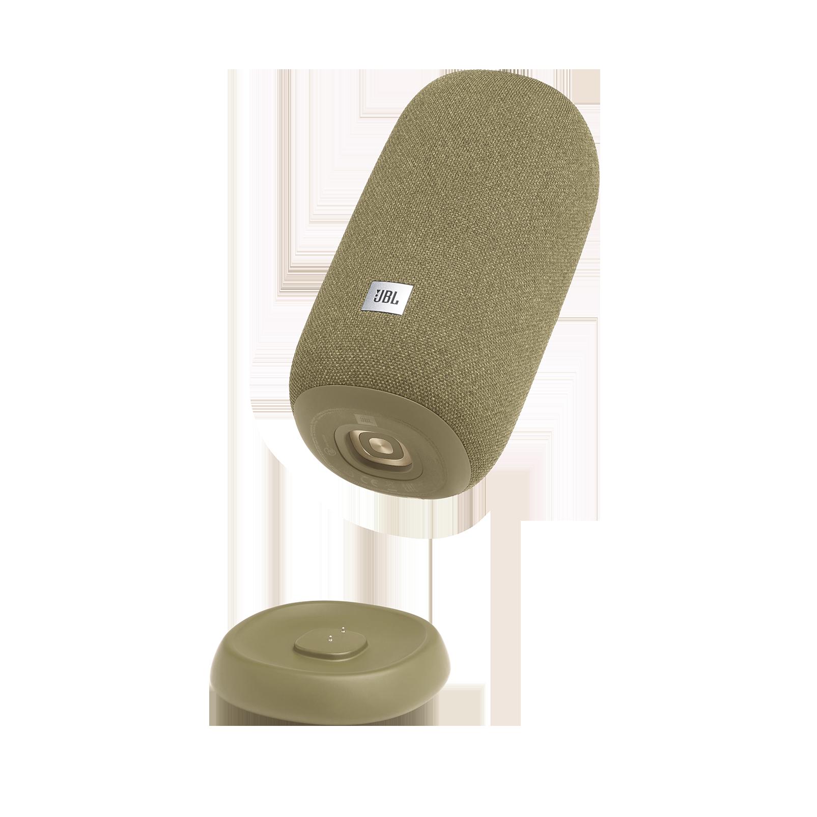 JBL Link Portable - Straw - Portable Wi-Fi Speaker - Detailshot 1