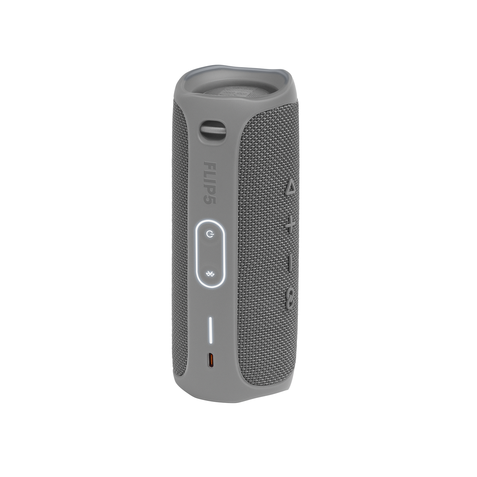 JBL FLIP 5 - Grey - Portable Waterproof Speaker - Back