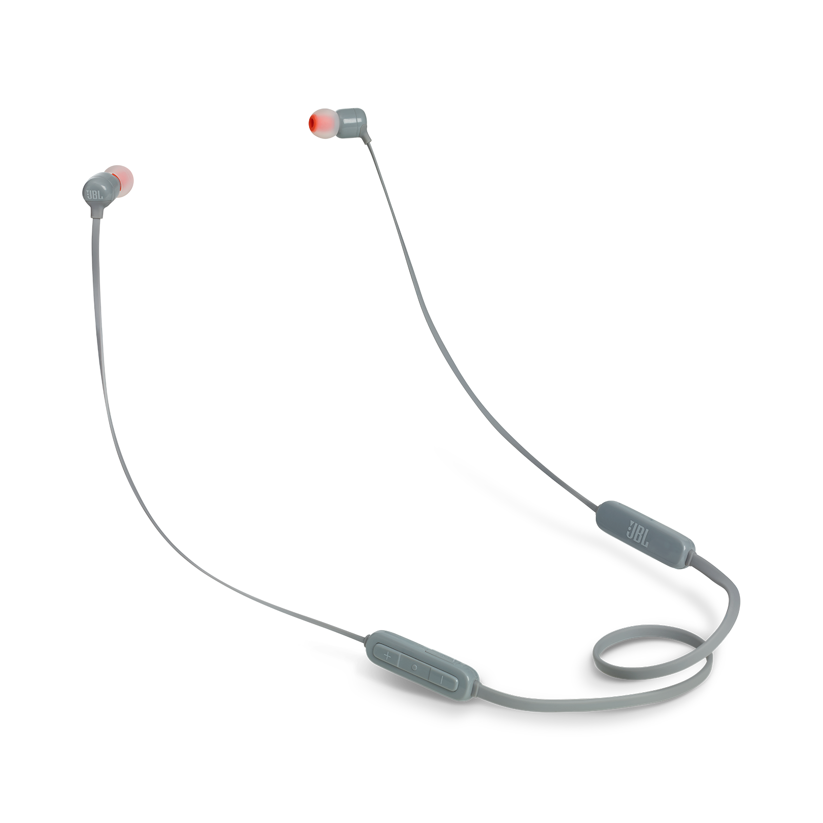 JBL TUNE 160BT - Grey - Wireless in-ear headphones - Hero