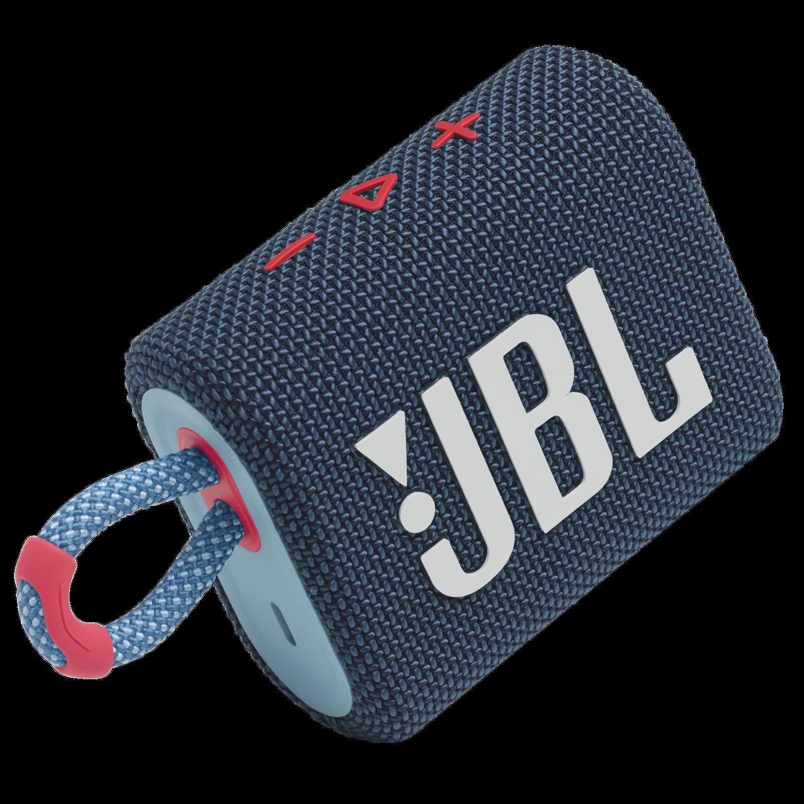 JBL Go 3 - Blue / Pink - Portable Waterproof Speaker - Detailshot 1