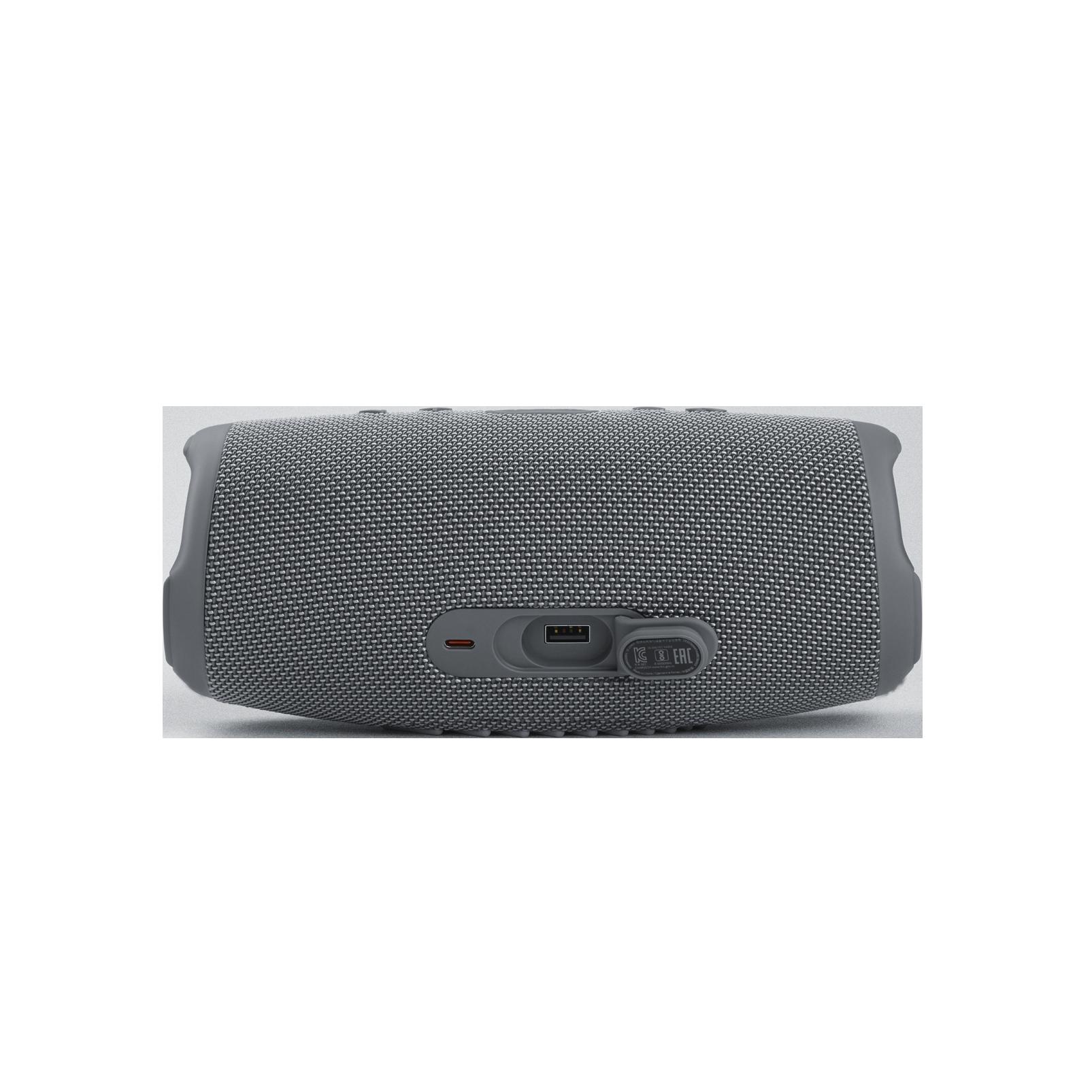JBL Charge 5 - Grey - Portable Waterproof Speaker with Powerbank - Detailshot 1