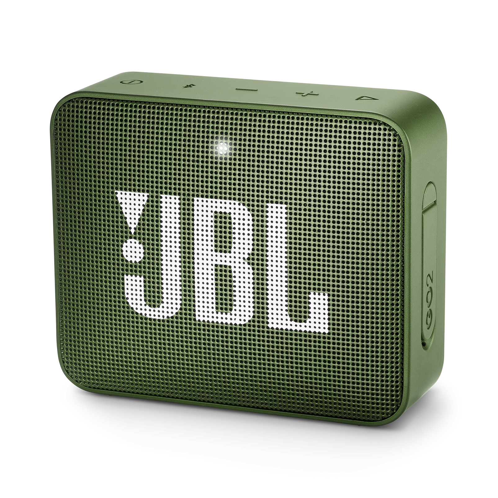 JBL GO 2 - Moss Green - Portable Bluetooth speaker - Hero