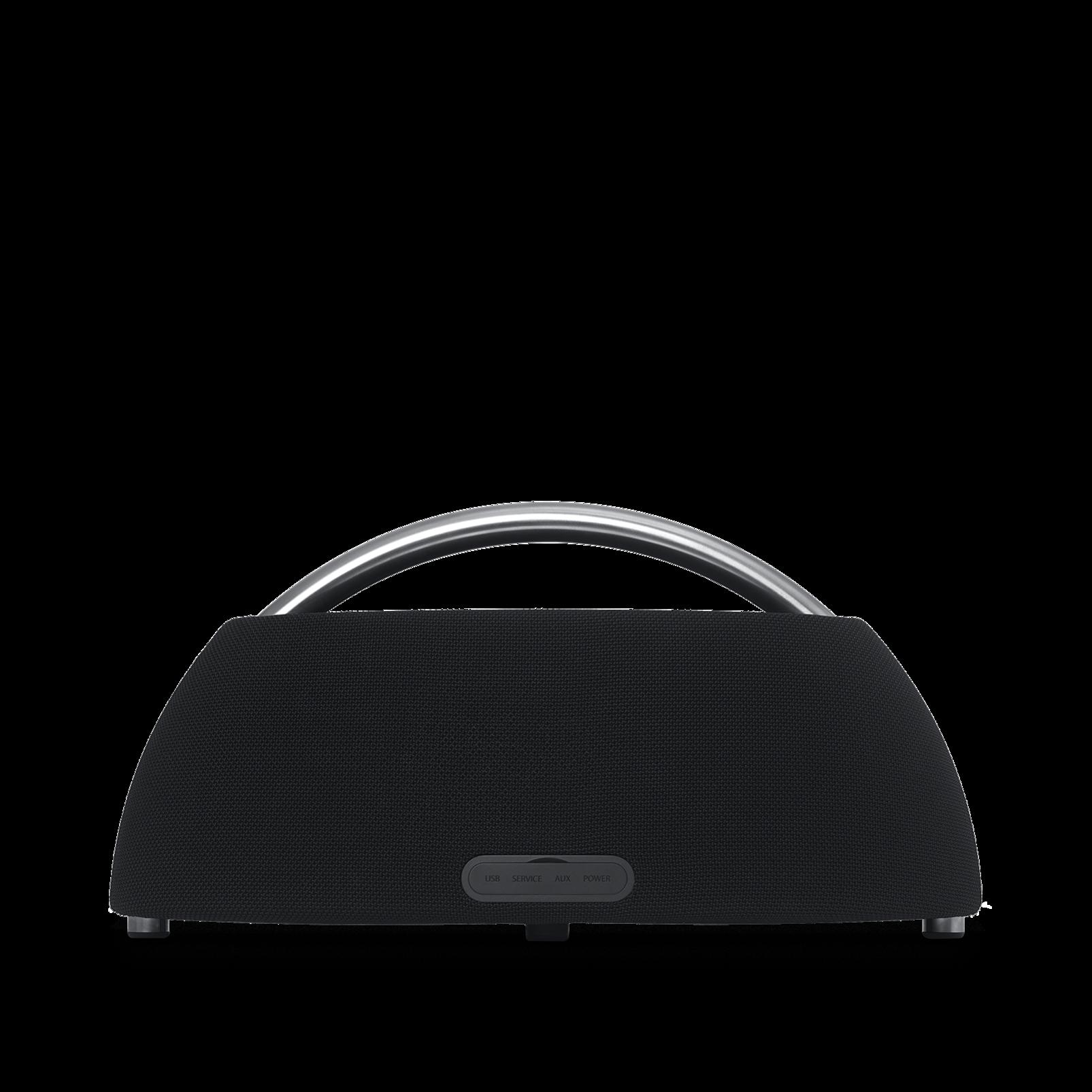 Go + Play - Black - Portable Bluetooth Speaker - Back