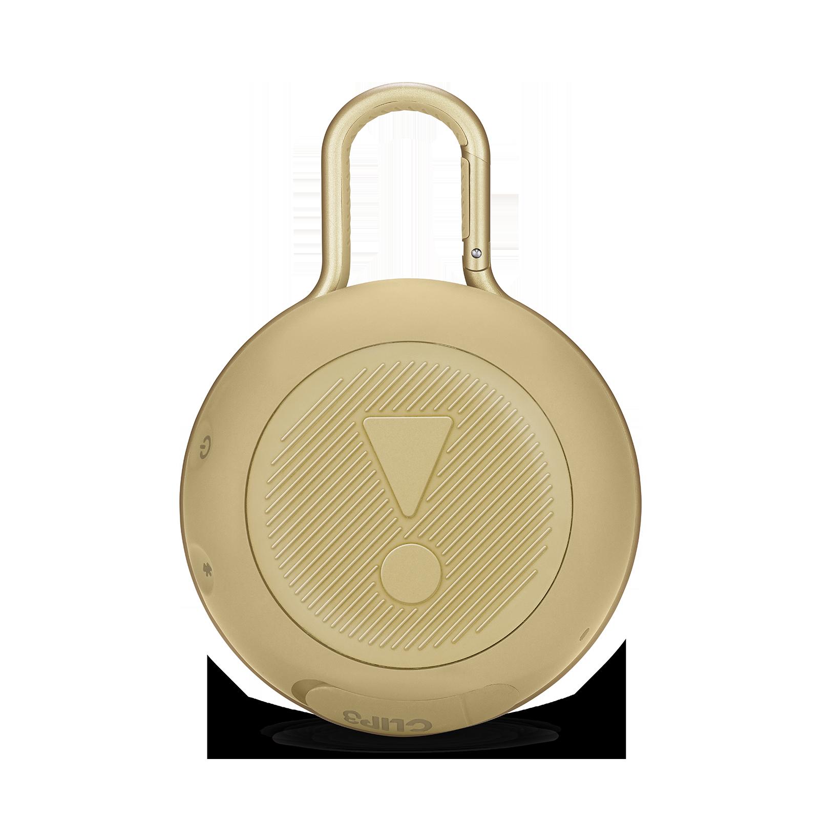 JBL CLIP 3 - Desert Sand - Portable Bluetooth® speaker - Back