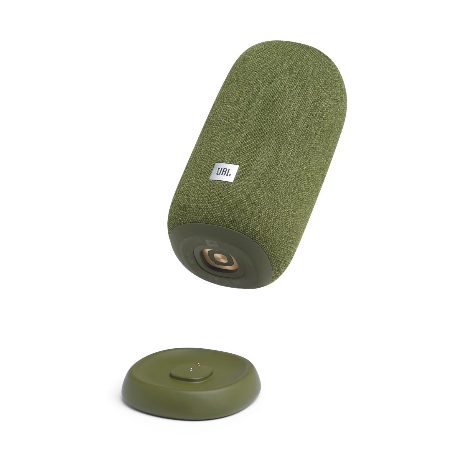 JBL Link Portable - Green - Portable Wi-Fi Speaker - Detailshot 1