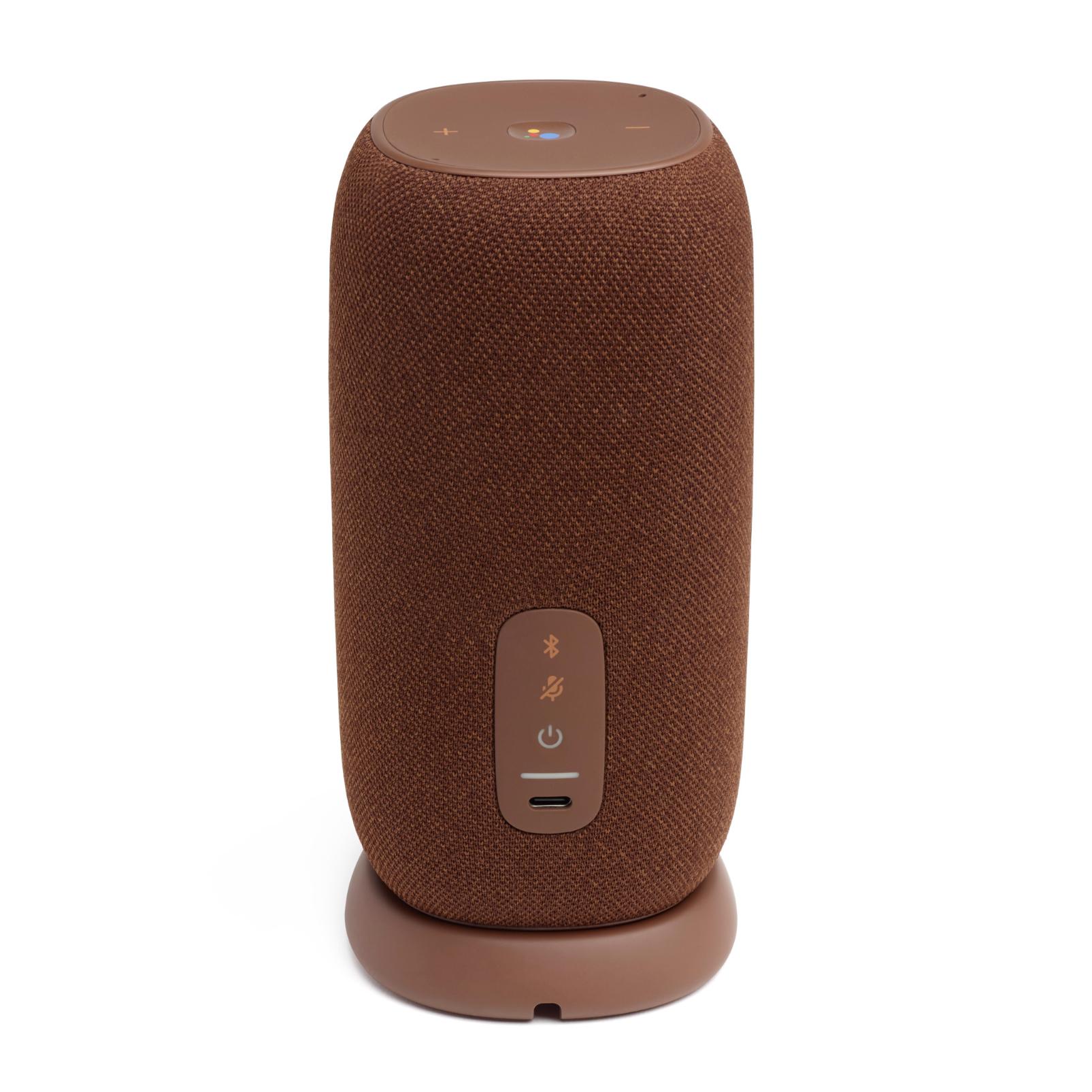 JBL Link Portable - Brown - Portable Wi-Fi Speaker - Back