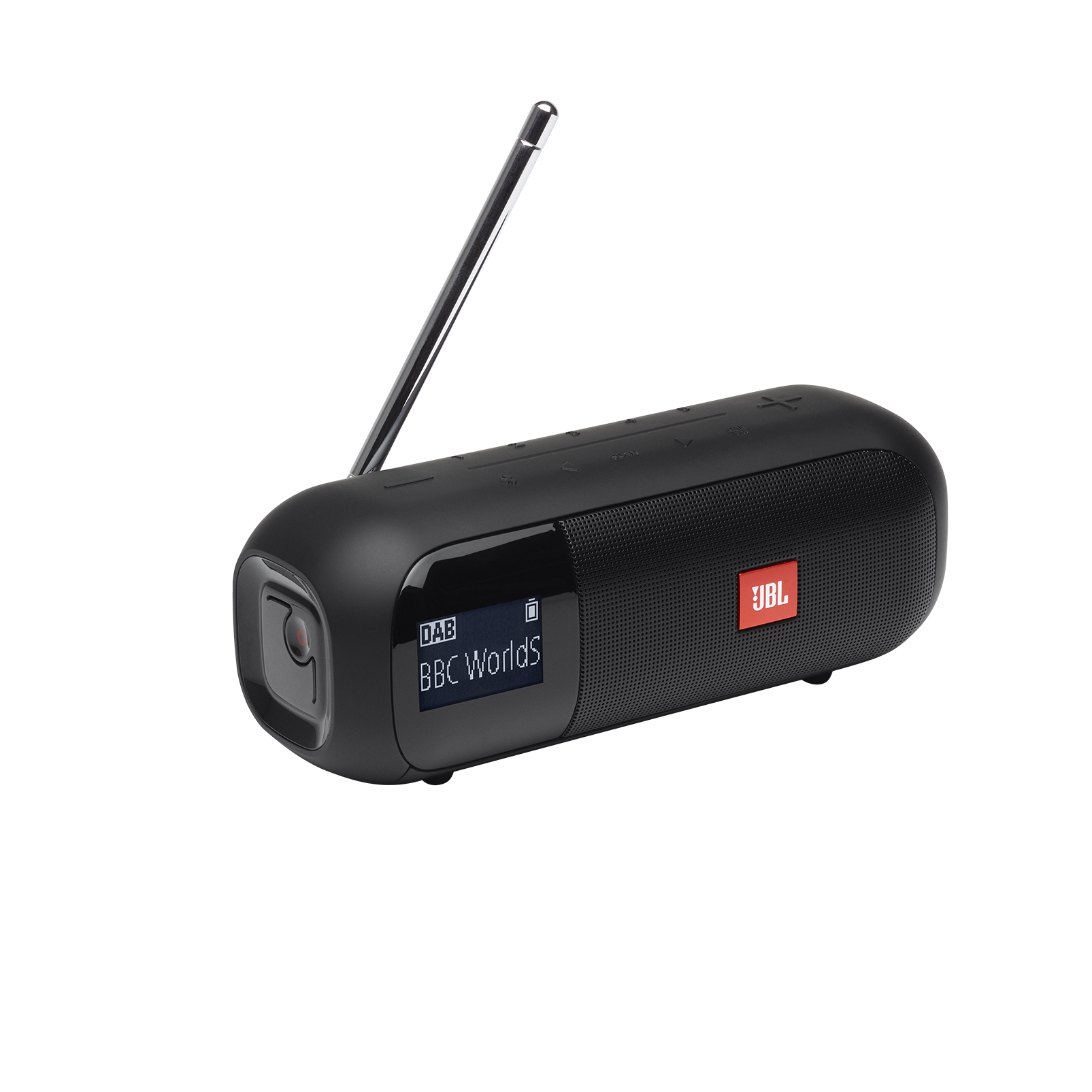 JBL Tuner 2 - Black - Portable DAB/DAB+/FM radio with Bluetooth - Hero