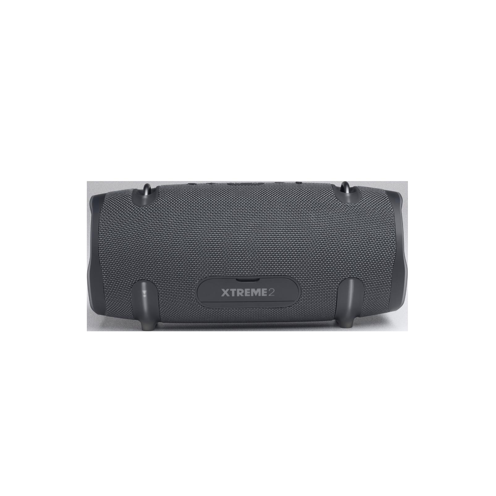 JBL Xtreme 2 Gun Metal - Gun Metal - Portable Bluetooth Speaker - Back