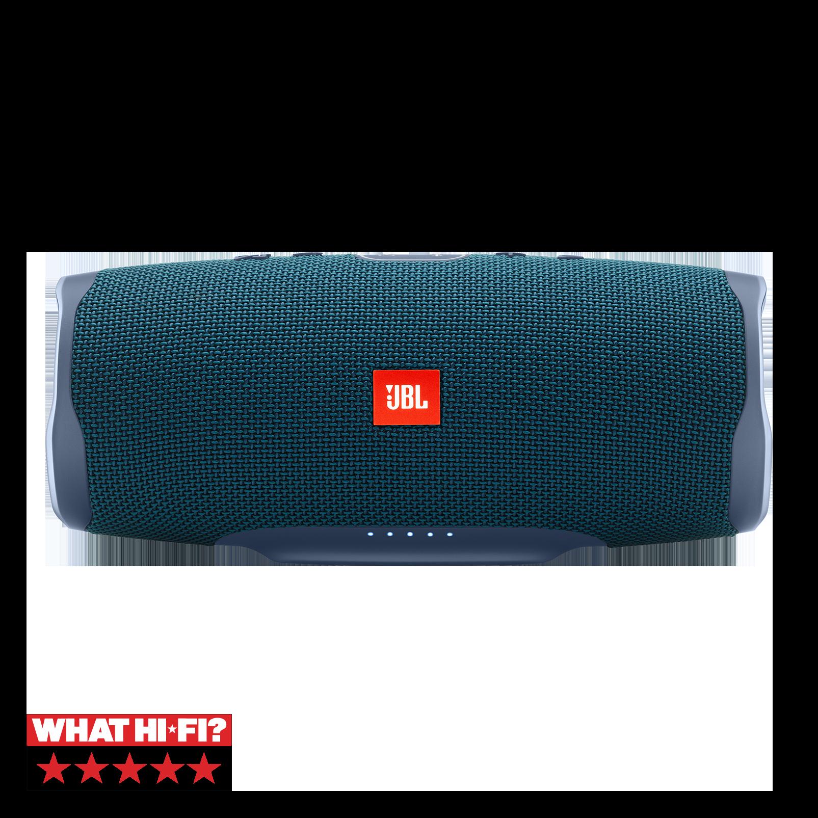 JBL Charge 4 - Blue - Portable Bluetooth speaker - Hero