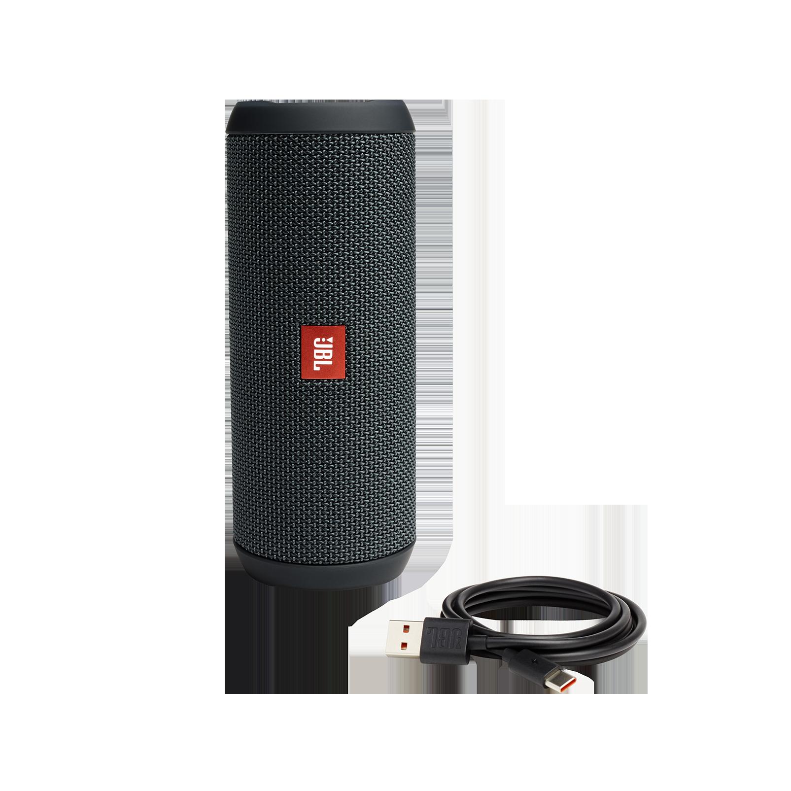 JBL Flip Essential - Gun Metal - Portable Bluetooth® speaker - Detailshot 1