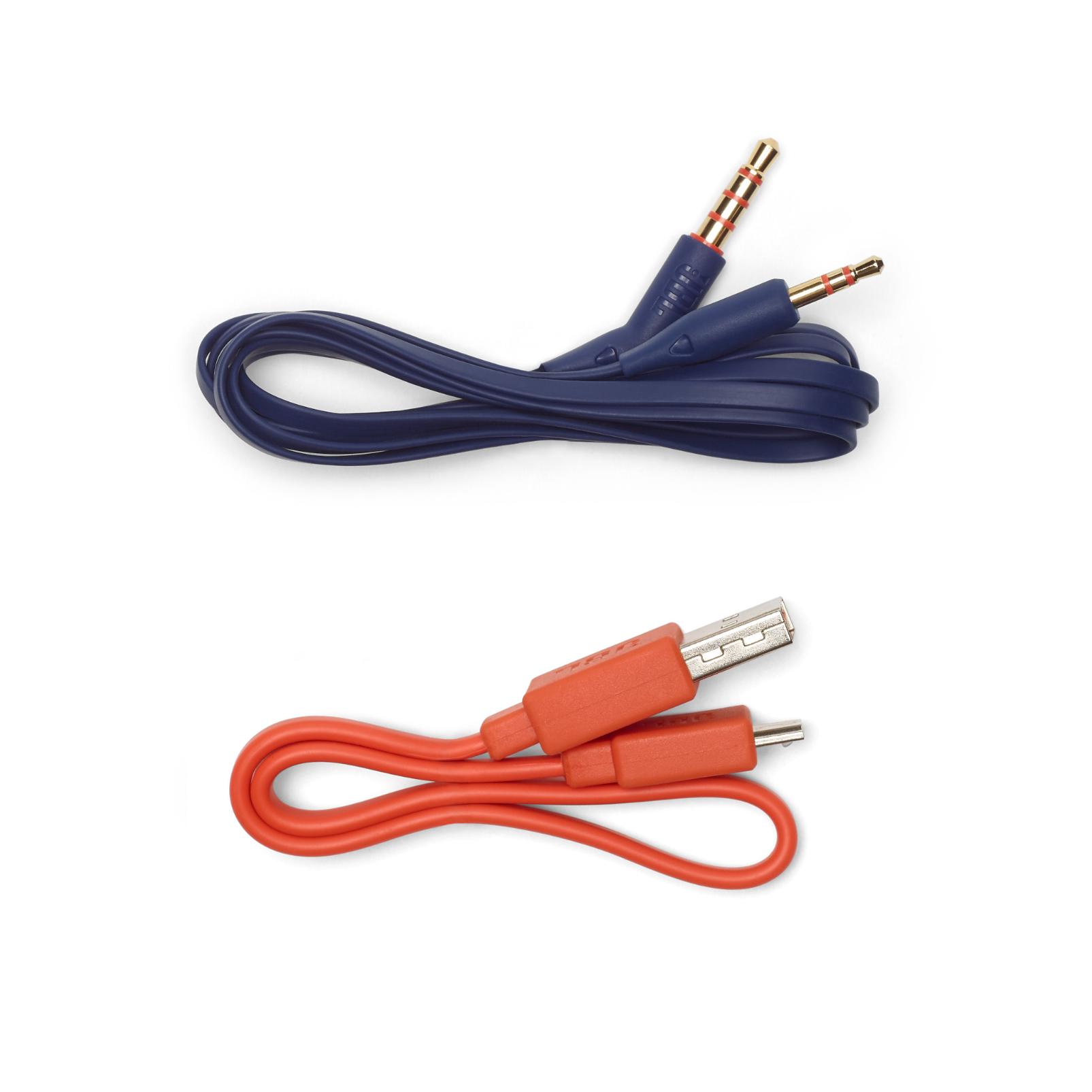 JBL TUNE 750BTNC - Blue - Wireless Over-Ear ANC Headphones - Detailshot 5