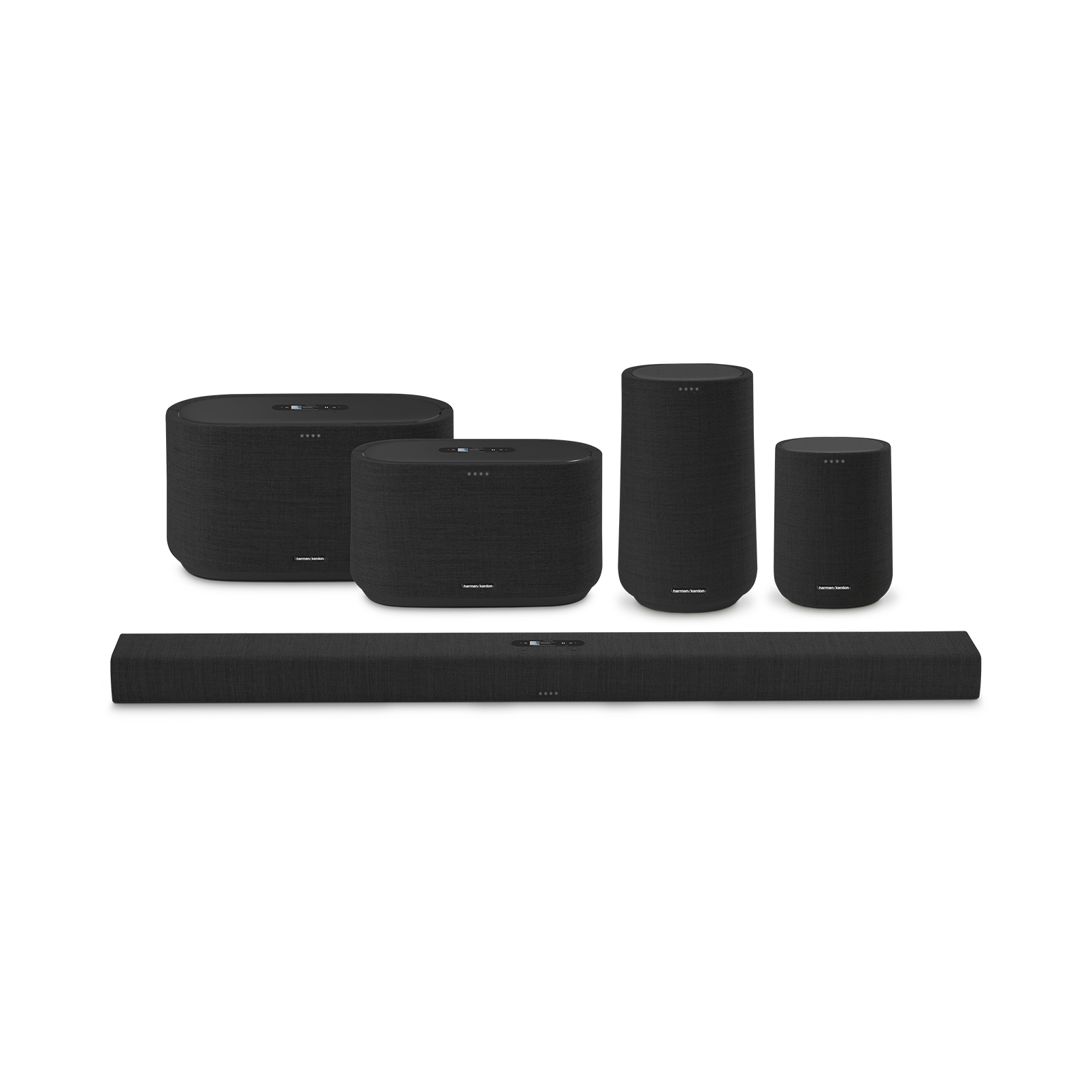 Harman Kardon Citation 500 - Black - Large Tabletop Smart Home Loudspeaker System - Detailshot 5