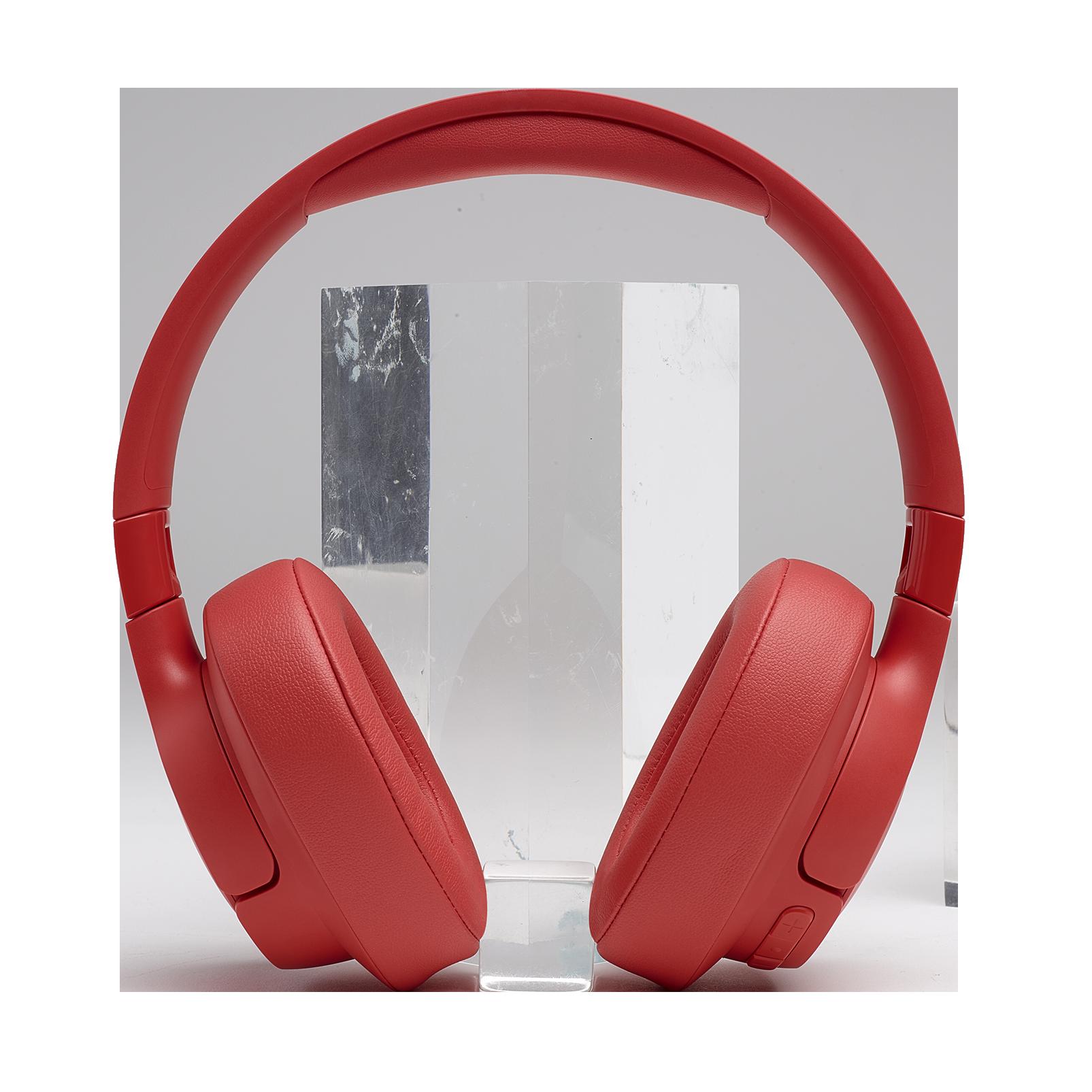JBL TUNE 700BT - Coral Orange - Wireless Over-Ear Headphones - Detailshot 5