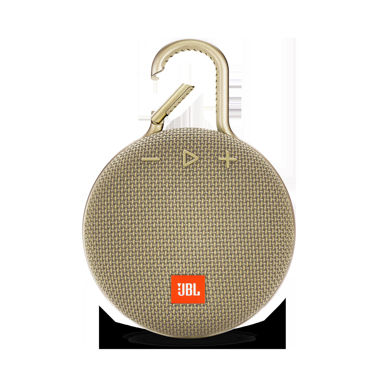 JBL CLIP 3 - Desert Sand - Portable Bluetooth® speaker - Front