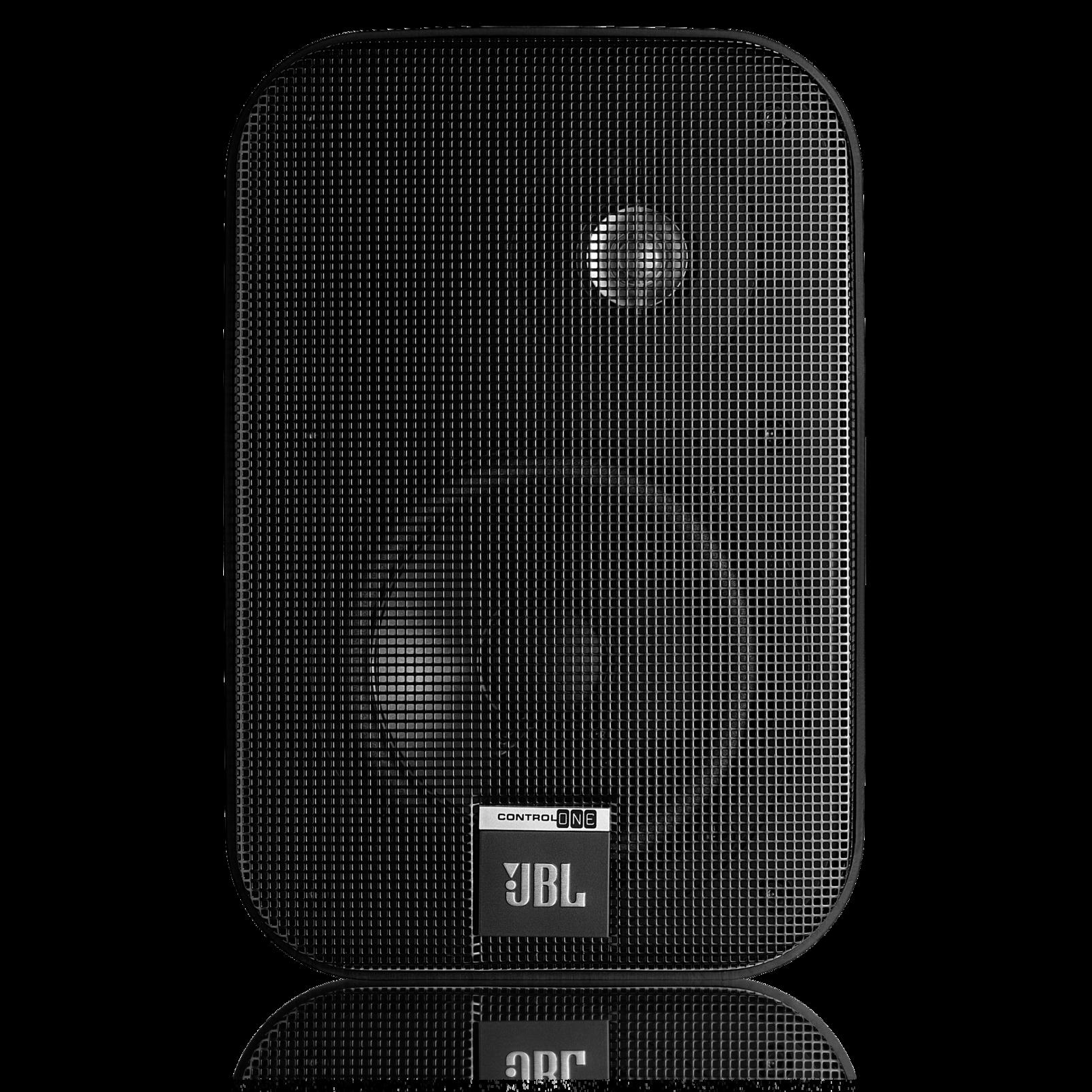 "Control One - Black - 2-Way, 100mm (4"") Bookshelf Speaker - Front"